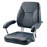 Кресло SAILOR, с рамой из анодированного алюминия, синее