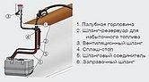 Предохранитель разбрызгивания топлива, тип FSA, горловина и топливный шланг Ø 38 мм, вент.шланг Ø 16
