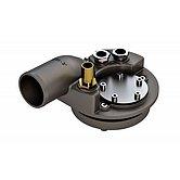 Комплект соединительный, заливка 38 мм, подача/возврат 8 мм, вентиляция 16 мм