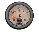 Индикатор уровня топлива, кремовый, 12 В, монт. отв. Ø 52мм (без датчика)