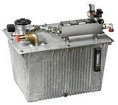 Гидравлическая цистерна алюминиевая 70 л, включающая клапан НТ1013