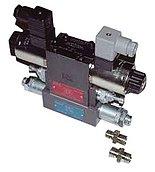Двухступенчатый соленоидный клапан 24 В, для лебедок 12 В по спец. запросу