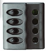 Панель выключателей 12 В, 100 х 110 мм, 4 позиции
