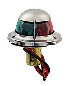Навигационные огни для установки на носу, красный/зеленый, 2 x 112,5°