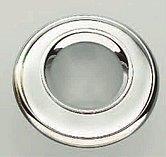 Галогенный потолочный врезной светильник, хромированный корпус
