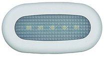 Светодиодная лампа освещения ступени, хромированный цинковый сплав, двухцветная