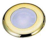Светодиодный потолочный светильник, пластиковый корпус хромированный
