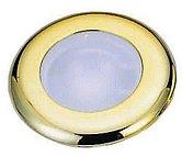 Светодиодный потолочный светильник, пластиковый корпус белый