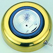 Настенный / потолочный светильник врезной из лакированной латуни