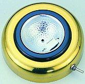 Настенный / потолочный светильник врезной из нержавеющей стали