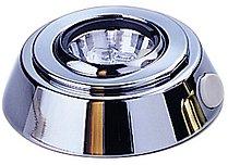 Светодиодный потолочный светильник, хромированная латунь