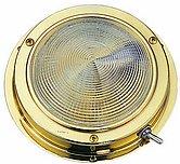 Накладной светодиодный светильник, лакированная латунь