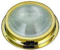 Светодиодный накладной светильник, позолоченный пластик