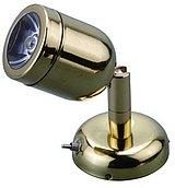 Светодиодный миниатюрный светильник для чтения / бра, лакированная латунь