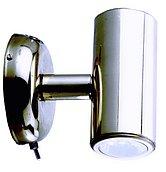 Светодиодный миниатюрный светильник для чтения, нержавеющая сталь