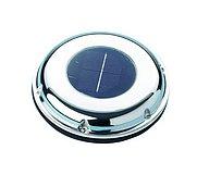Вентилятор на солнечный батареях, корпус из нержавеющей стали