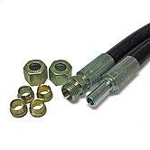 Комплект шлангов с фитингами для соединения гидроцилиндра MTC52 - MTC175 и трубки Ø 8 х 10 мм
