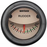 Индикатор положения руля, кремовый, 12/24 В, монт. отв. Ø 52мм (без датчика)