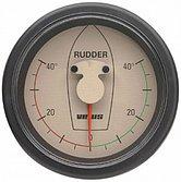 Индикатор положения руля кремовый, 12/24 В, монт. отв. Ø 107 мм (без датчика)