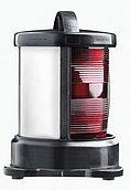 Круговой 360° красный, (крепление основания), черный корпус (без лампочки)