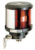 Круговой 360° белый, (крепление основания), черный корпус (без лампочки)