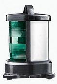 Бортовой зеленый ПБ (крепление основания), черный корпус (без лампочки)