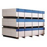 Poly-wood, белый, лист 1220 x 800 x 12 мм
