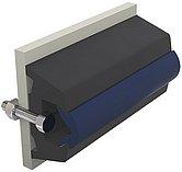 Брус виниловый TRAP, черный, 60 x 38 мм, без вставки, бухта 30 м. (цена за метр)