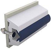 Брус виниловый TRAP, белый, 60 x 38 мм, без вставки, бухта 30 м. (цена за метр)