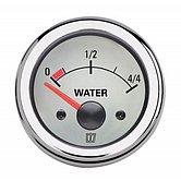 Индикатор уровня воды, белый, 12 В, монт. отверстие Ø 52 мм (без датчика)