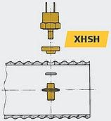 Датчик температуры газовыхлопа для выхлопного шланга