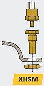Датчик температуры газовыхлопа для MF/MV/LSG/LSS/MGS/MGL/MGP
